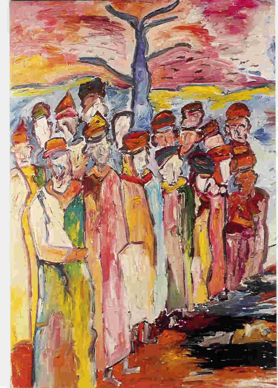 m4 jpg pierre mori pierre mori mène en parallèle une carière publicitaire et son travail d artiste peintre néo expressionniste depuis quelques années on peut